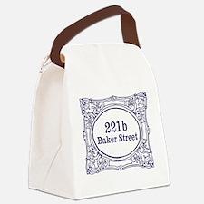 221b Baker Street Canvas Lunch Bag