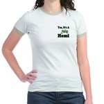 Yes, It's A Hemi Tractor Jr. Ringer T-Shirt
