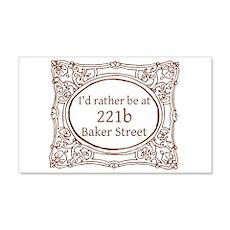 221b Baker Street Wall Decal