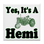 Yes, It's A Hemi Tractor Tile Coaster
