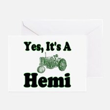 Yes, It's A Hemi Tractor Greeting Cards (Package o