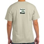 Yes, It's A Hemi Tractor Ash Grey T-Shirt