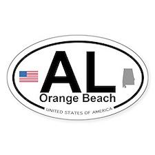 Orange Beach Decal
