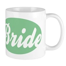 MINT GREEN OVAL BRIDE.png Mug