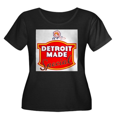 Detroit Made Special Women's Plus Size Scoop Neck