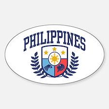 Philippines Sticker (Oval)