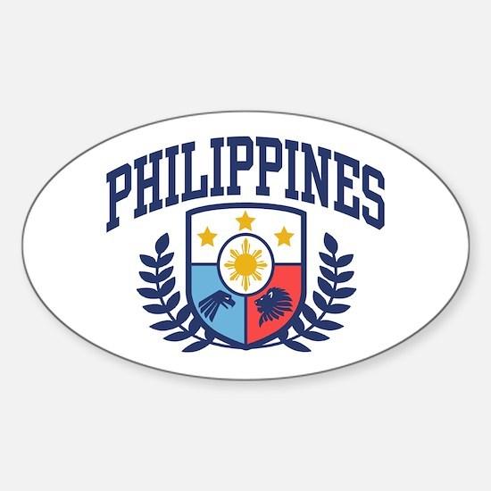 Philippine Flag Car Accessories Auto Stickers License Plates