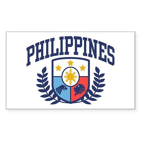 Philippines Sticker (Rectangle)