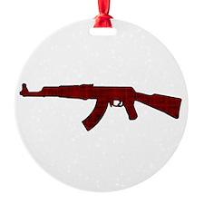 Grunge AK-47 Ornament