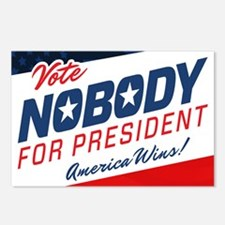 Nobody for President Postcards (Package of 8)