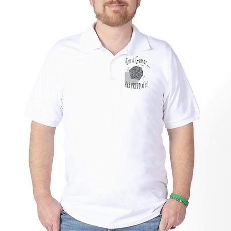 Proud Gamer Golf Shirt