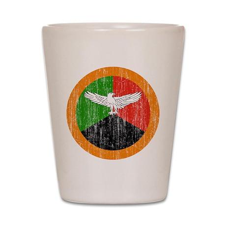Zambia Roundel Shot Glass