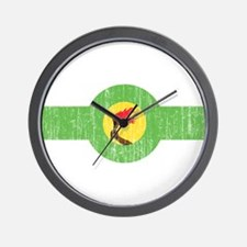 Zaire Roundel Wall Clock