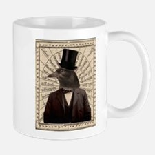 Victorian Steampunk Gentleman Crow Mug