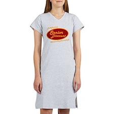Dont forget my senior discount Women's Nightshirt