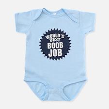 Worlds Best Boob Job Infant Bodysuit