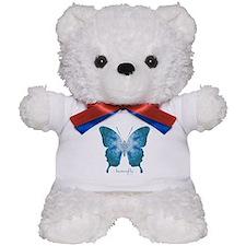 Zephyr Butterfly Teddy Bear