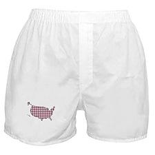 Argyle USA Boxer Shorts