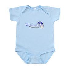 We click together Infant Bodysuit