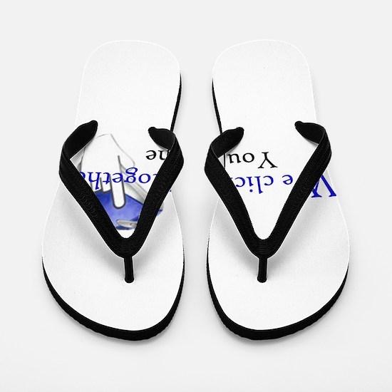 We click together Flip Flops