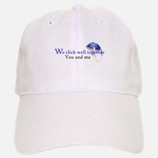 We click together Baseball Baseball Cap