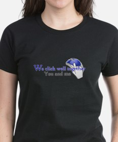 We click together Tee