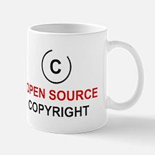 Open source copyright Mug