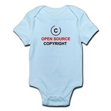 Open source copyright Infant Bodysuit