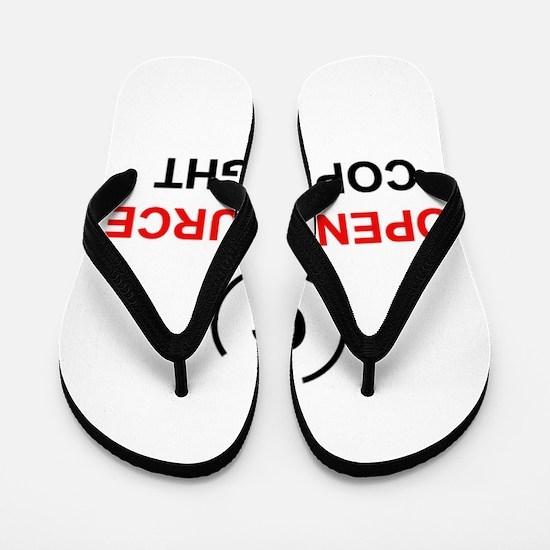 Open source copyright Flip Flops