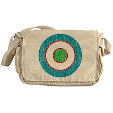Uzbekistan Roundel Messenger Bag