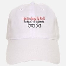 Change the world Baseball Baseball Cap