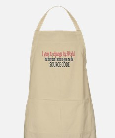 Change the world Apron