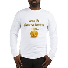 Make Lemon Pi Long Sleeve T-Shirt