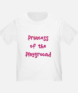 Princess of the Playground - Toddler T-shirt