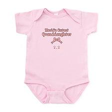 Worlds Cutest Granddaughter Infant Bodysuit
