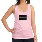 THE UNIVERSE WILL BRING Racerback Tank Top