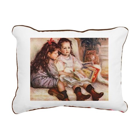 Renoir Rectangular Canvas Pillow