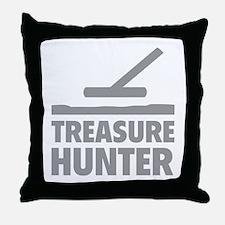 Treasure Hunter Throw Pillow
