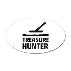 Treasure Hunter 38.5 x 24.5 Oval Wall Peel