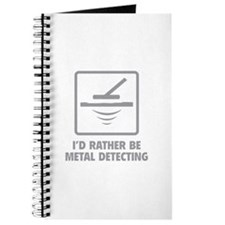 I'd Rather Be Metal Detecting Journal