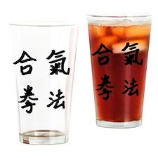 Aiki Kenpo logo Drinking Glass