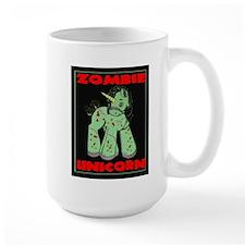 Zombie Unicorn Loves Brains Mug