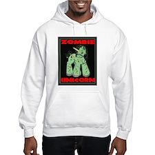 Zombie Unicorn Loves Brains Jumper Hoody
