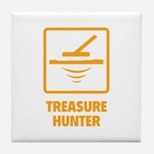 Treasure Hunter Tile Coaster