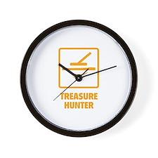 Treasure Hunter Wall Clock
