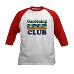 Gardening Club Kids Baseball Jersey