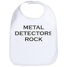 Metal Detectors Rock Bib