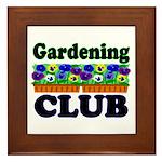 Gardening Club Framed Tile