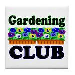 Gardening Club Tile Coaster