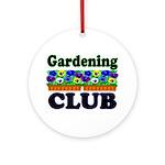 Gardening Club Ornament (Round)
